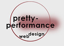 pretty-performance, Webdesign
